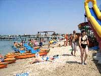 Водные развлечения на пляжах в Черноморске