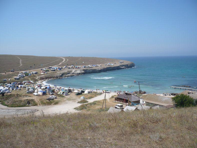 Бухта Кипчак (отдых от цивилизации на западном берегу Крыма)   Пикабу   591x788