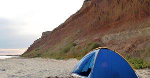 Где отдохнуть с палатками на черноморском побережье?