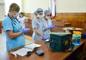 В Черноморском районе стартовала прививочная кампания против гриппа