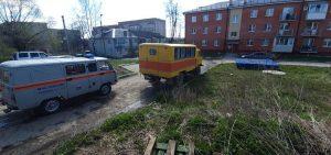 Черноморское осталось без воды из-за аварии