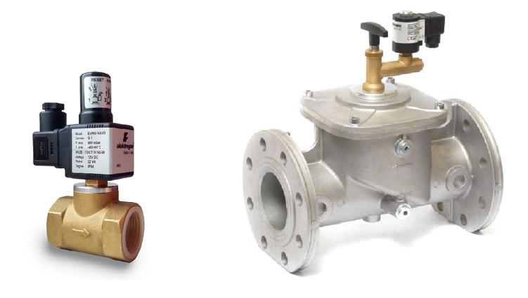 Газовое оборудование — Электромагнитные газовые клапаны